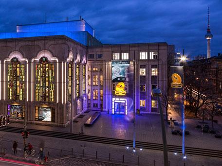Berliner Quatsch Comedy Club Friedrichstadtpalast Stadtführung Sightseeing Weihnachtsfeier Firmenevent