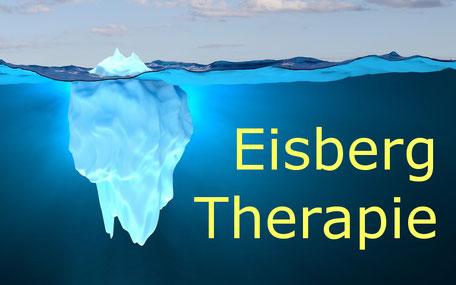 Der Eisberg unter Wasser gleicht dem Unbewussten Hypnosetherapie - Allgemeinmedizin