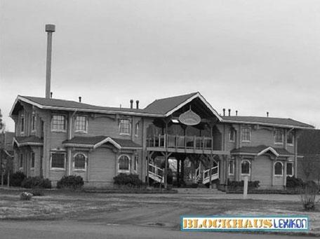 Bild: Das Blockhaus-Hotel wurde in Finnland gesichtet