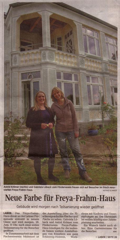 Kieler Nachrichten 22. September 2015