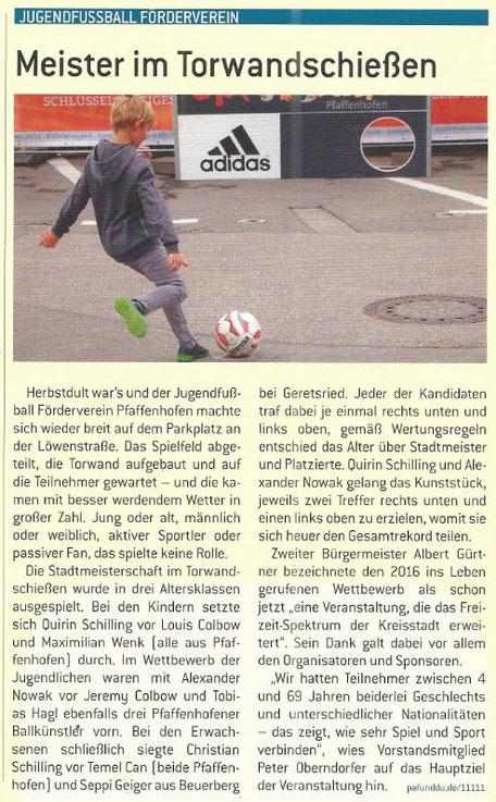 PAF und DU - Das Bürgermagazin 11/2017