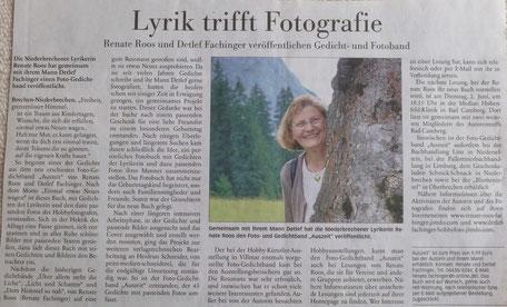 Zeitungsbericht Nassauische Neue Presse vom 18.5.2015