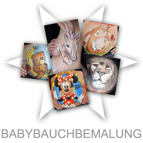 Bodypainting Körperbemalung Aktion Face-Bodypainting.de Firma Firmenevent Sommerfest Event  Promotion professionell Stand Attraktion Party Werbung Logo Firmenlogo