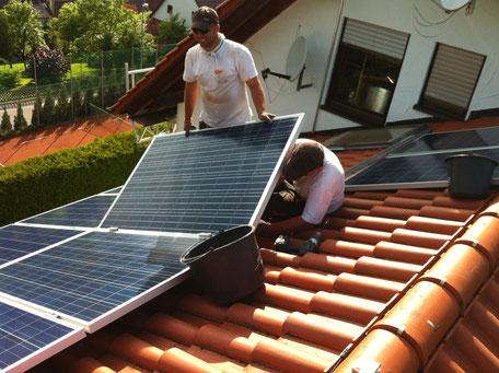 Fachmännische Installation Ihrer Photovoltaikanlage