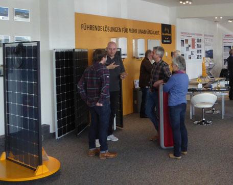 Kompetente Photovoltaik-Beratung in unserer Ausstellung