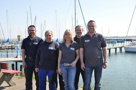 Das Team von Peter Pauls.