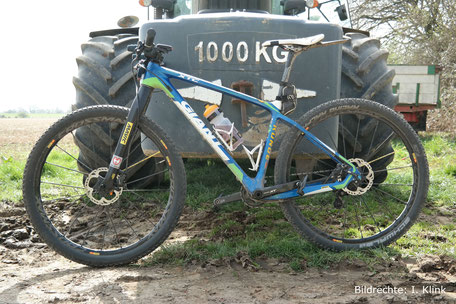 Giant Carbon Gabel 460mm Starrgabel Leichtbau Carbon MTB XT 1
