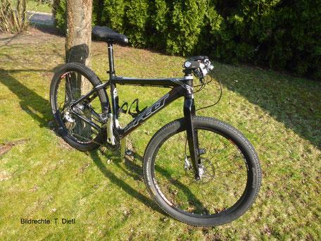 "26"" Felt MTB Carbon Gabel Starrbike Bildrechte T. Dietl"