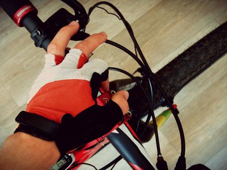 starre Carbon Gabel Handschuhe Komfort Lightcarbon