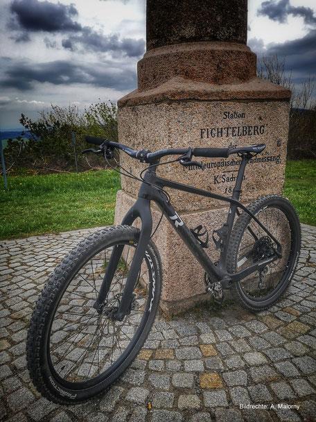 Raymond Carbon MTB Hardtail Carbon Gabel Starrbike Bildrechte: A. Malorny