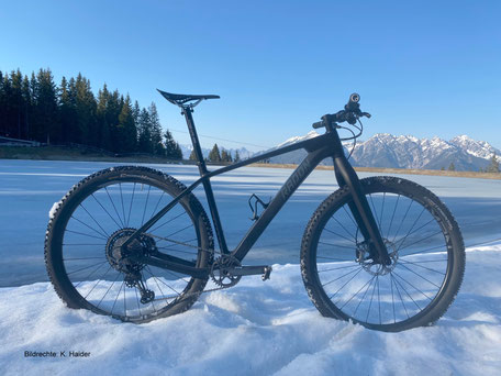 Radon Carbon MTB Carbon Gabel Starrbike Bildrechte K Haider