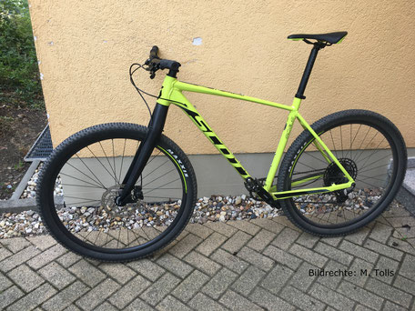 Scott Carbon Gabel  495mm Starrbike Hardtail BIldrechte M. Tolls