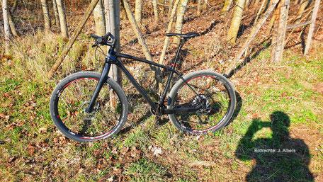 Carbon Gabel MTB Starrbike Bildrechte J Albers