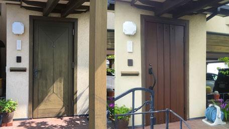 玄関ドア取替工事の画像