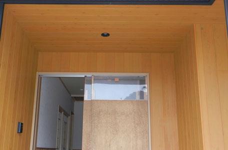 外部南面:杉板貼りの画像2