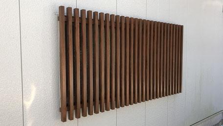 木製格子の画像