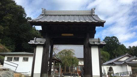 山門改修工事の画像