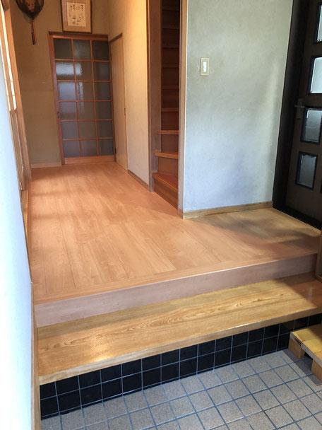 掛川市H邸・床改修工事の画像