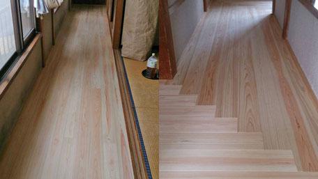 床貼り工事の画像