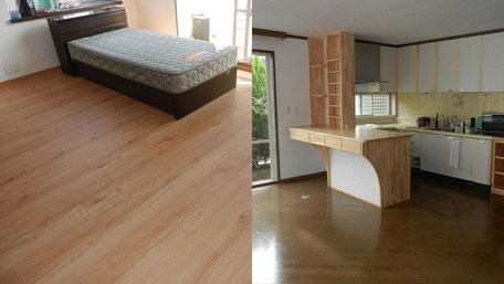 寝室・LDK改修工事の画像