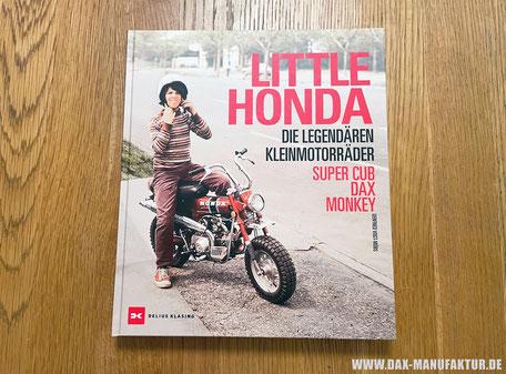 Neues Buch über Honda Dax und Honda Monkey