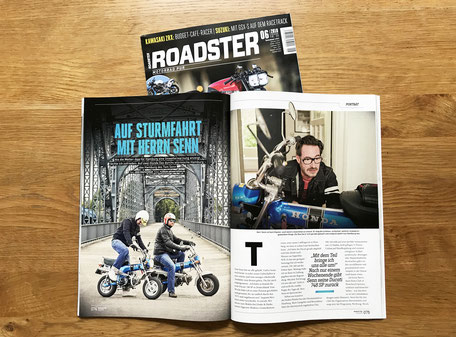 ROADSTER-Magazin Thomas Senn, Hamburg