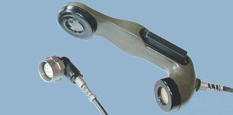 Handapparat mit Seitentaste Serie H-33-F/PT