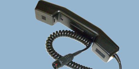 Handhörer mit integrierter Sendetaste - BOS Commander