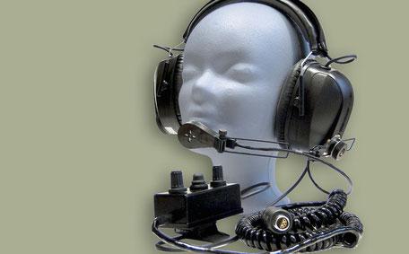 ASC SCHÜBEL Electronic® Kopfsprechgeschirr 600 A 110.000