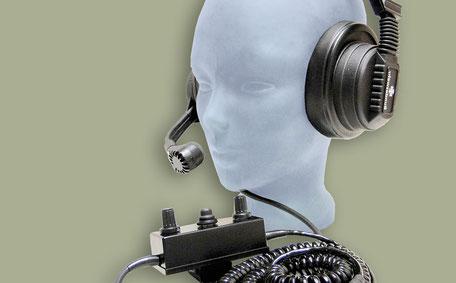 ASC SCHÜBEL Electronic® Kopfsprechgeschirr 600 A 930.000