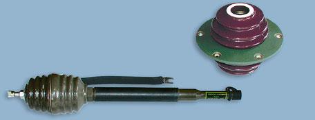 Isolator / HF Durchführung, Mast Base MP-65