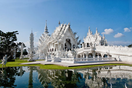 Weißer Tempel-Wat Rong Khun Chiang Rai © mjpics