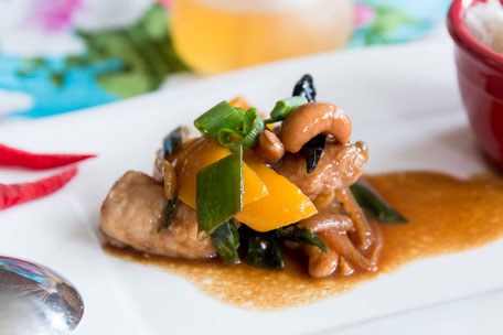 Stir fried Cashew Nuts with Chicken © Jutta M. Jenning mjpics