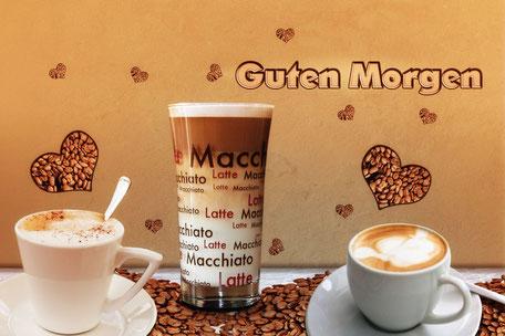 composing-guten-morgen-kaffee-grusskarte