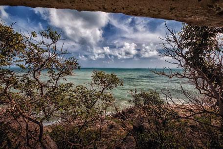 Schroffe felsige Natur auf Koh Samui-Lad Koh View Point