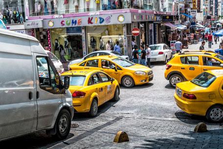 taxi-strassen-fatih-istanbul