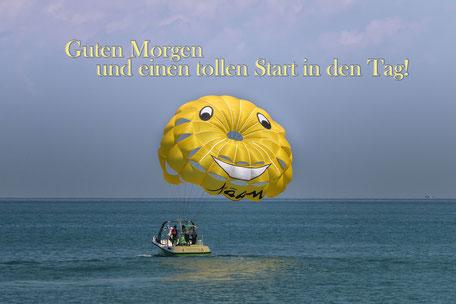 grusskarte-guten-morgen-parasailing-smiley