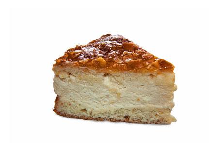 Bienenstich-Tortenstück