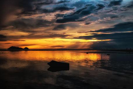 sonnenuntergang-hin-kong-beach-koh-phangan