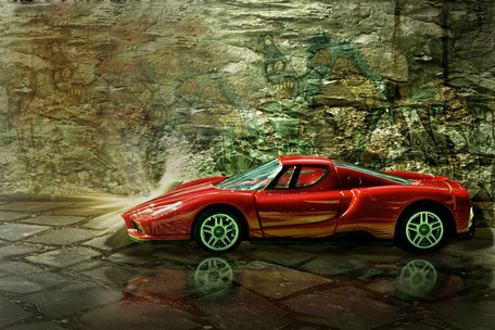 rotes-modell-auto