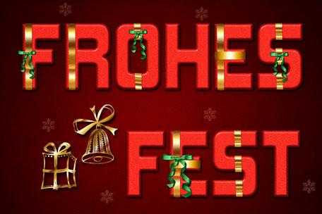Frohes Fest-grafik