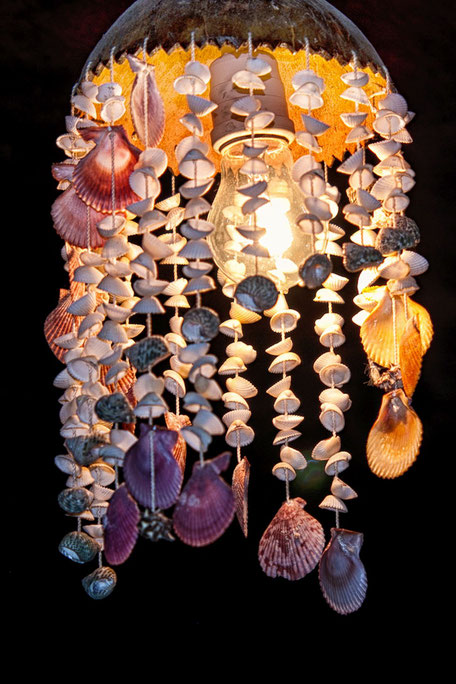 muschel-lampe