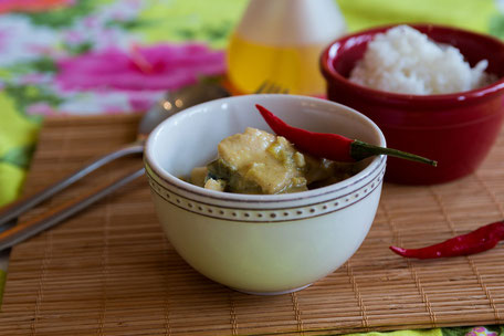 Green Thai-Chicken-Curry © Jutta M. Jenning mjpics