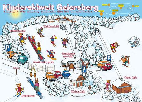 Familienskigebiet Geiersberg