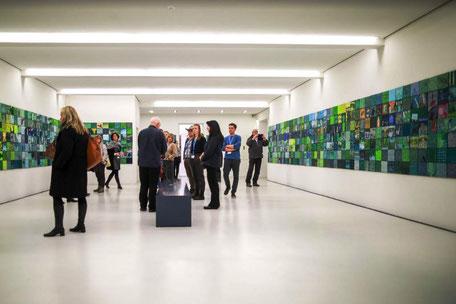 """Ausstellung von Dieter Zimmermann im Dieselkraftwerk Cottbus: """"Quadratur des Spreewaldes. Alles fließt…"""""""