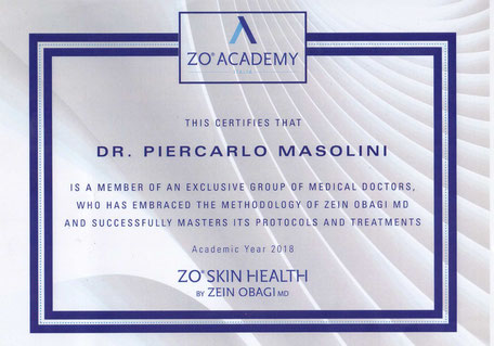esperto della pelle ZO zein obagi