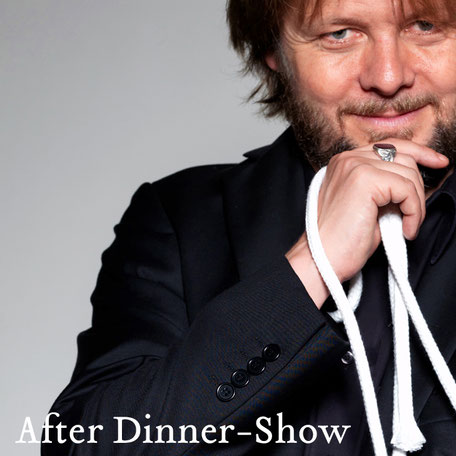 Die After Dinner-Show von Christian Knudsen, Zauberer in Hamburg