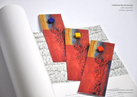Mod. MU_SS 06 Spilla-segnalibro Dettagli d'Arte - mod. registrato