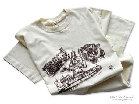 T-shirt d'artista  per promozione - Regione FVG