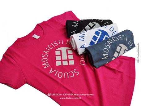T-shirt, maglie uomo donna Scuola mosaicisti del Friuli, Spilimbergo, Pn